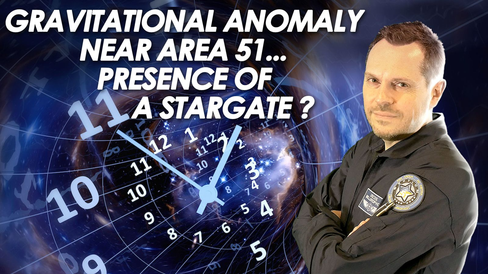 👽 Gravitational Anomaly Spotted Near Area 51 - The Presence Of a Stargate is Suspected