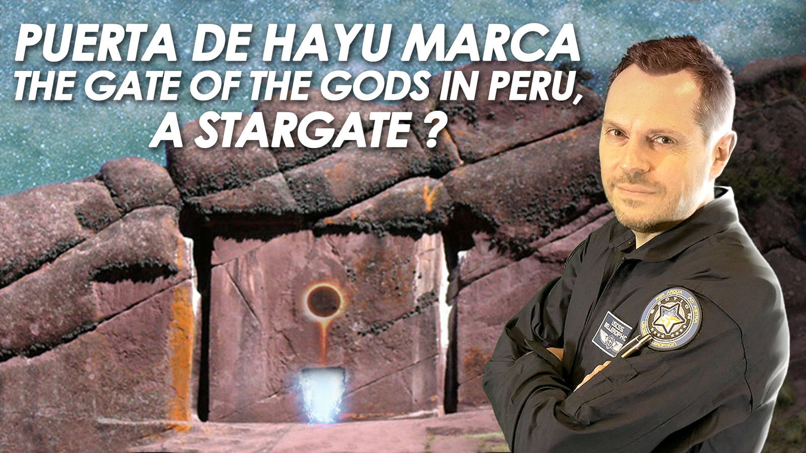 👽 Puerta de Hayu Marca - The Gate of the Gods in Peru - A Stargate ?