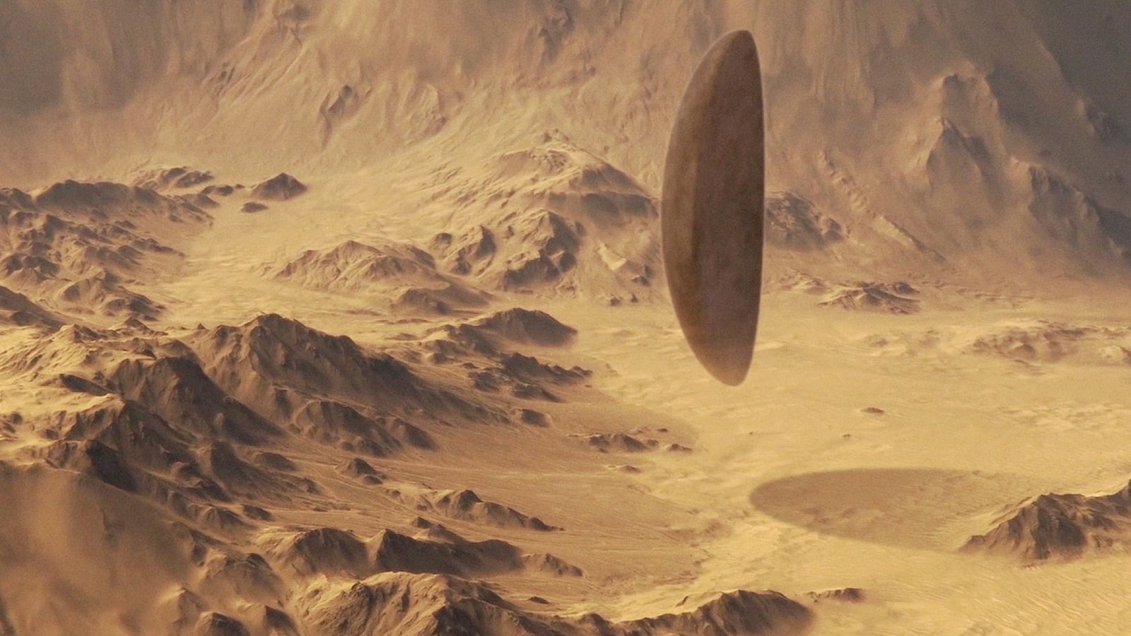 👽 Alien Spacecraft Filmed by NASA Mars Helicopter (CGI)