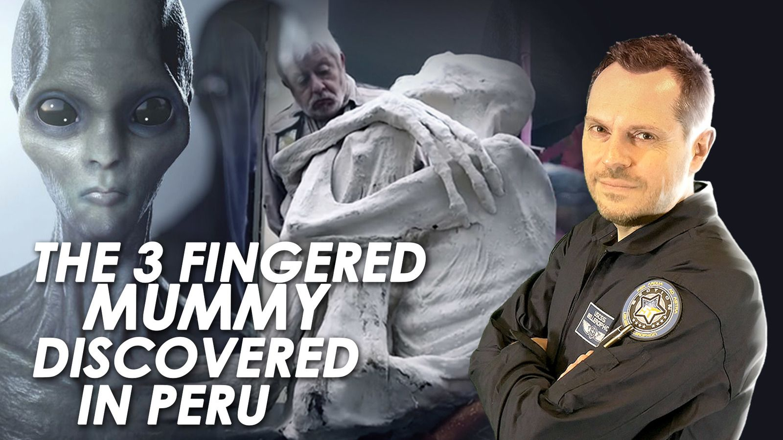 👽 The Three Fingered Mummy In Peru Could Have Alien Origins
