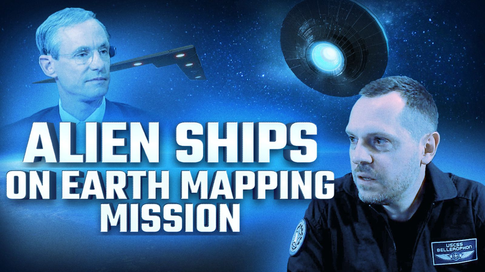 👽 Alien Ships May Be On An Earth Reconnaissance and Mapping Mission
