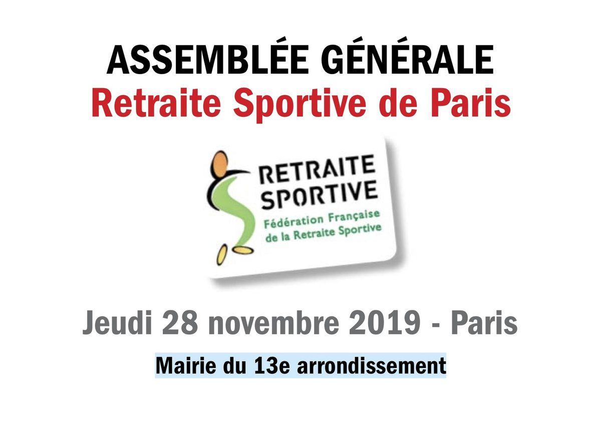 Assemblée Générale RSP - 28 novembre 2019