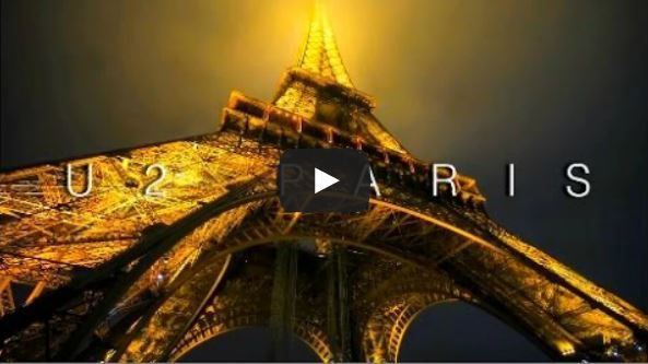 U2 and Paris - The City of Lights [Dedicated to My Girlfriend]