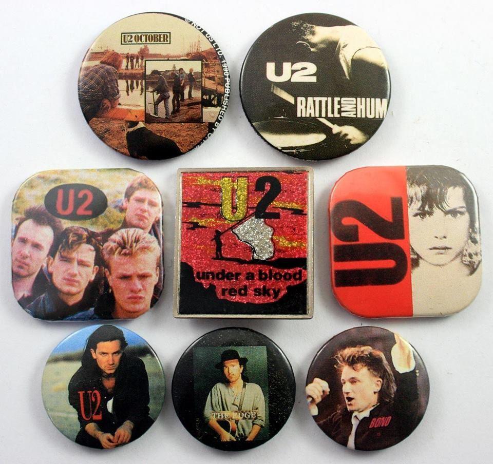 Pin's U2