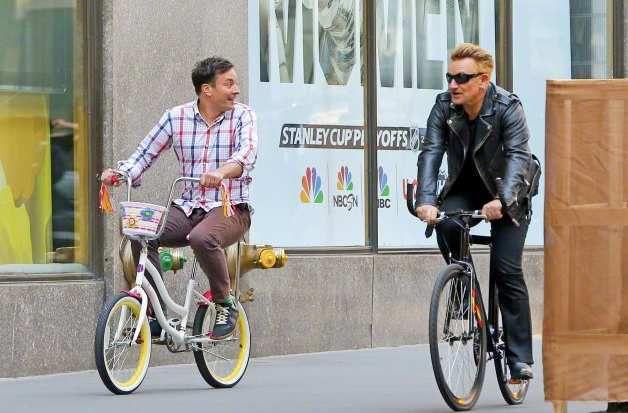 U2 chez Jimmy Fallon dans le Tonight Show vendredi 8 mai !