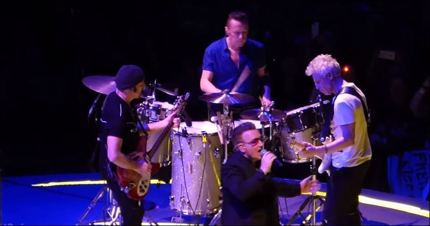 U2 -Innocence + Experience Tour -15/05/15 -Vancouver -Canada -Rogers Arena