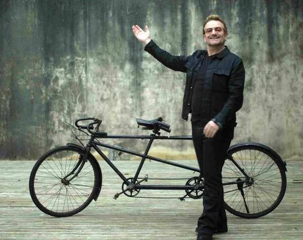 Qui veut faire du vélo avec BONO à New-York ?