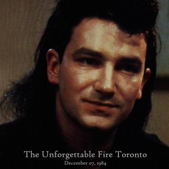 U2 -Unforgettable Fire Tour - 07/12/1984 Toronto Canada -Massey Hall