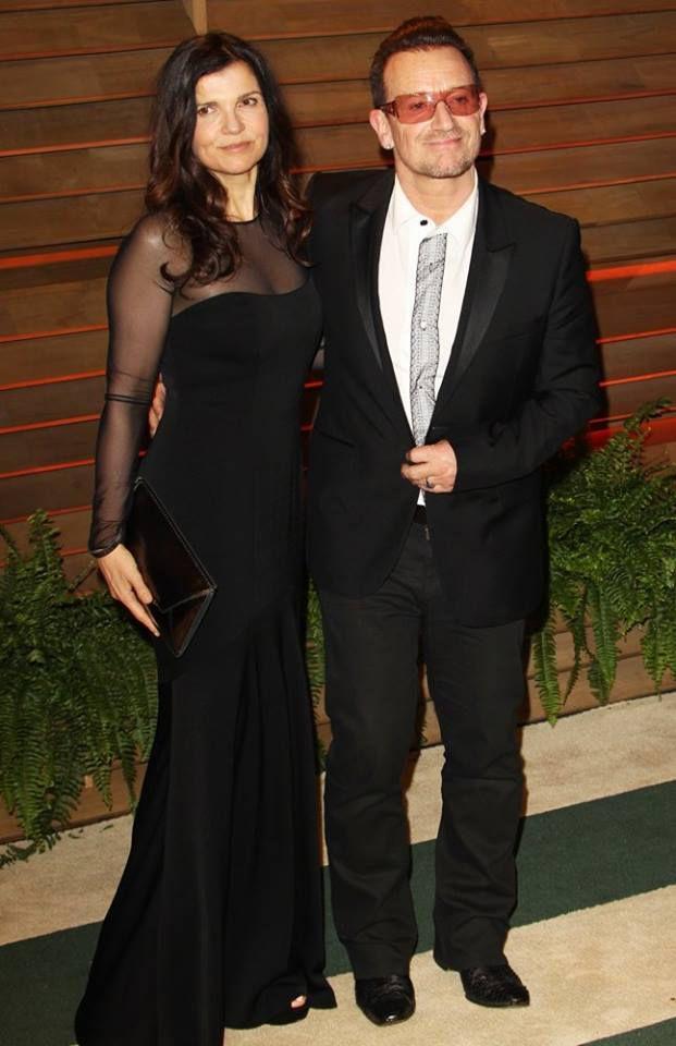 Bono et son épouse Alison Hewson !