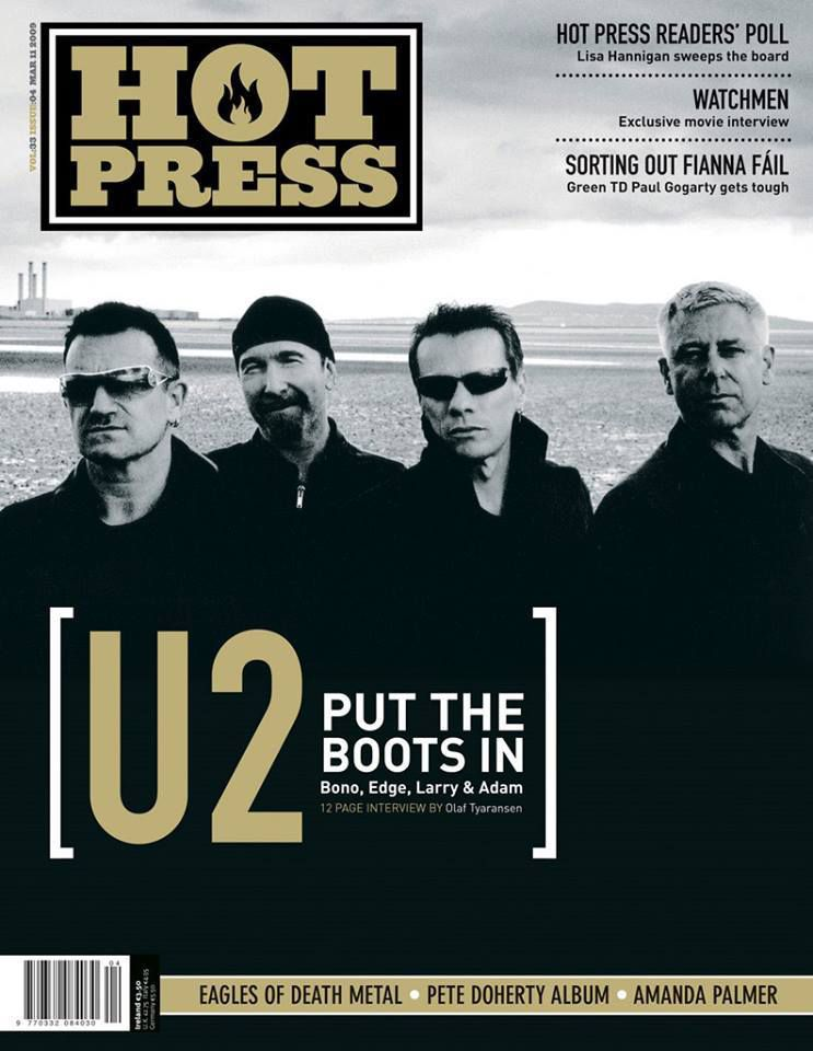 U2 Hot Press Magazine -Novembre 2014