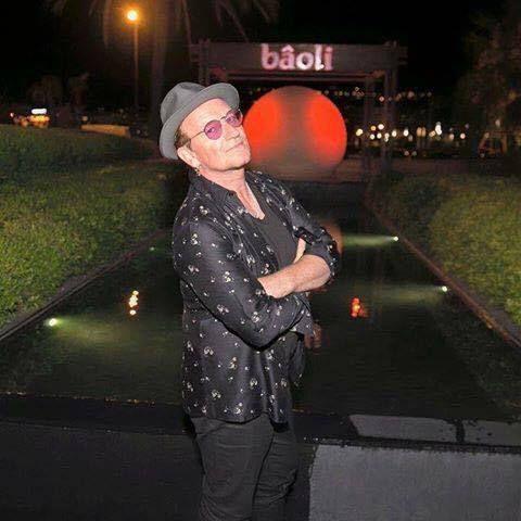 Bono à Cannes le 06/08/2016