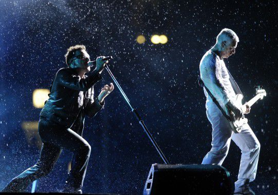 U2 -Moscou Russie Luzhniki Stadium 25/08/2010