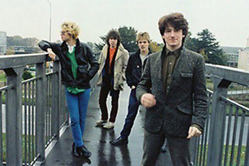 U2 à Limerick en Irlande 1978