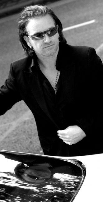 U2 -Bono à la cérémonie des Q Awards Londres, 2004