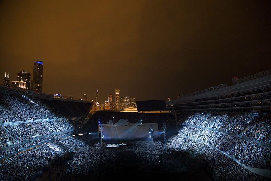 Deuxième concert à Chicago .