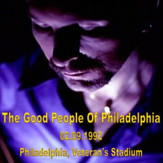 U2 -ZOO TV Tour - 02/09/1992 -Philadelphie -USA -Veteran's Stadium #1
