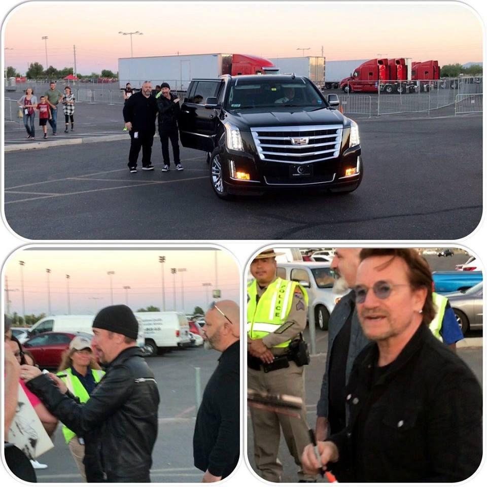 U2 -Phoenix -Etats-Unis 19/09/2017 -University of Phoenix Stadium