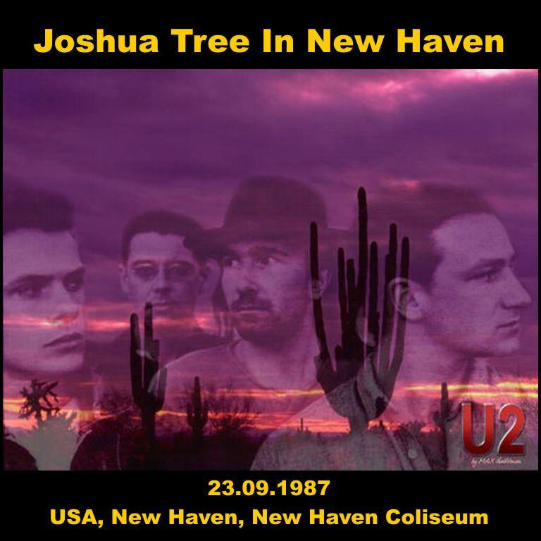 U2 -Joshua Tree Tour -23/09/1987 -New Haven -USA