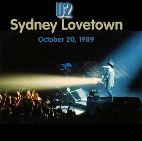 U2 -Lovetown Tour -20/10/1989 -Sydney Australie ,Entertainment Center