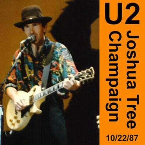 U2 -Joshua Tree Tour -22/10/1987 Champaign -USA -Assembly Hall