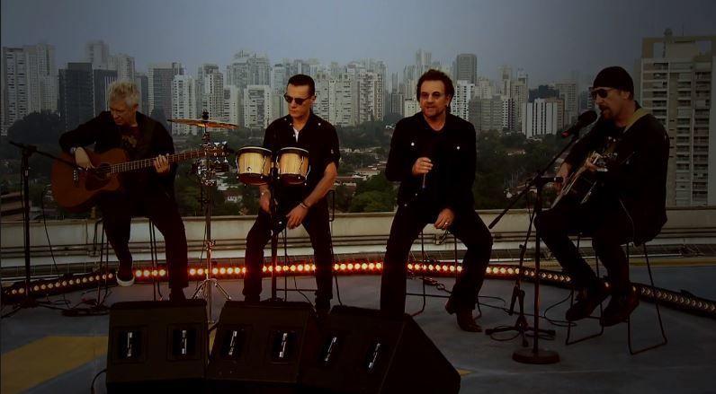 U2 -Ordinary Love -Fantástico -Brésil -17/10/2017