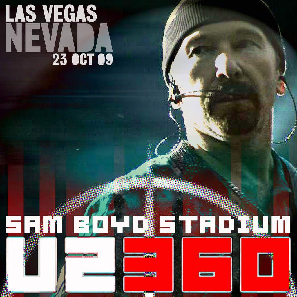 U2 -360° Tour -23/10/2009 -Las Vegas USA Nevada -Sam Boyd Stadium