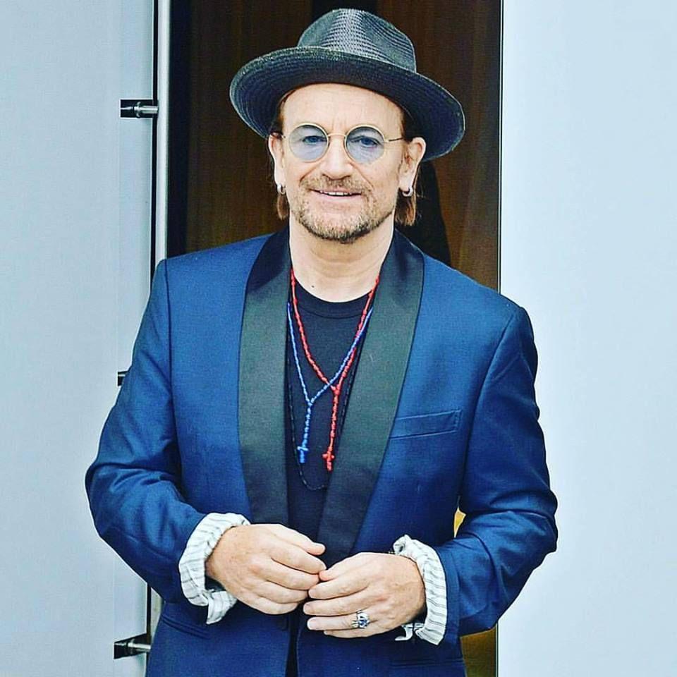 U2 -Bono à Rio de Janeiro -Brésil -24-10-2017