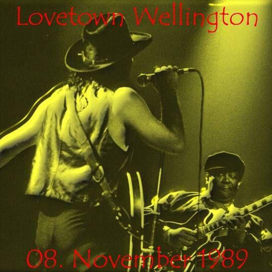 U2 -Lovetown Tour -08/11/1989 -Wellington  Nouvelle-Zélande -Athletic Park