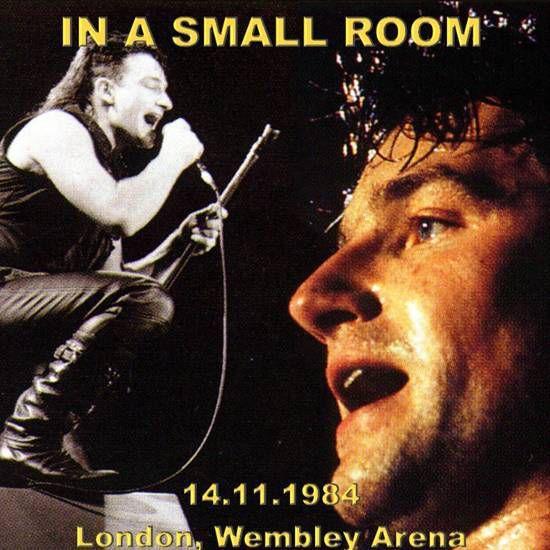 U2 -Unforgettable Fire Tour -14/11/1984 Londres Angleterre - Wembley Arena