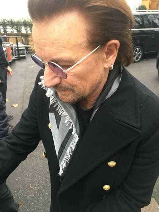 U2 -Bono -BBC -Abbey Road Studios -Londres -15-11-2017