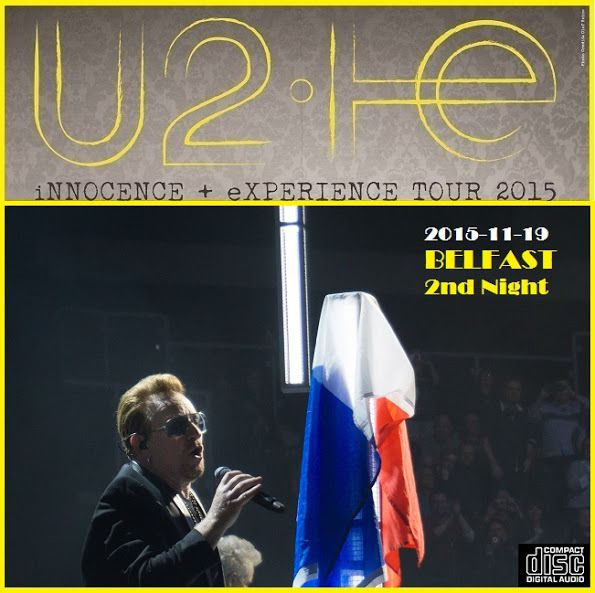 Second et dernier concert dans cette ville. U2 n'avait jamais joué deux soirs d'affilée à Belfast -