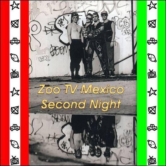 U2 -ZOO TV Tour -22/11/1992 -Mexico Mexique- Palacio De Los Deportes #2