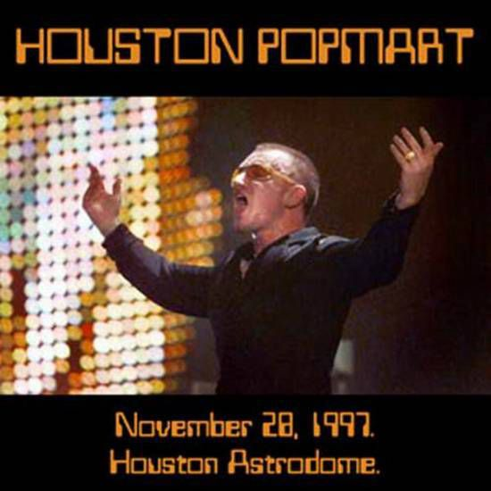 U2 -PopMart Tour -28/11/1997 -Houston  USA -Houston Astrodome