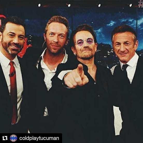 Bono -Jimmy Kimmel -Live-El Capitan Theatre -California, USA -28/11/2017