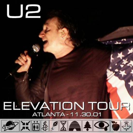 U2 -Elevation Tour -30/11/2001 -Atlanta USA- Philips Arena