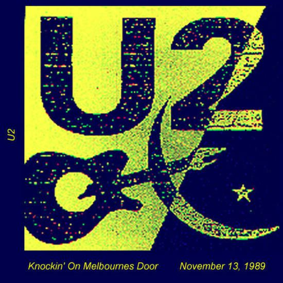 U2 -Lovetown Tour -13/10/1989 -Melbourne  Australie- National Tennis Center #5