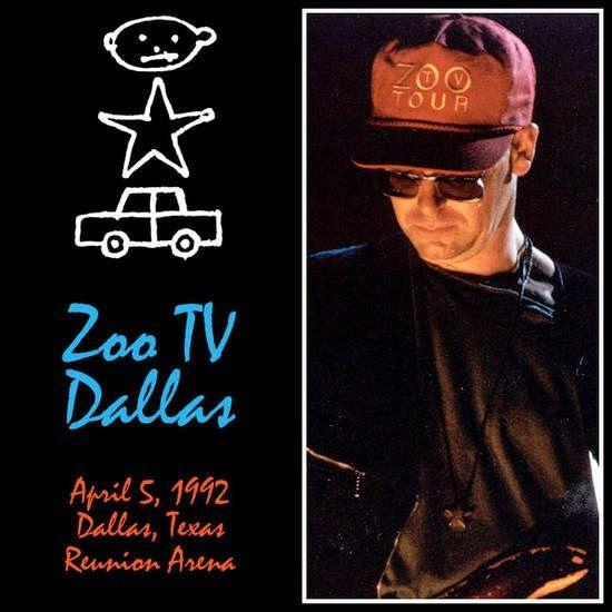 U2 -ZOO TV Tour -05/04/1992 -Dallas -USA - Reunion Arena