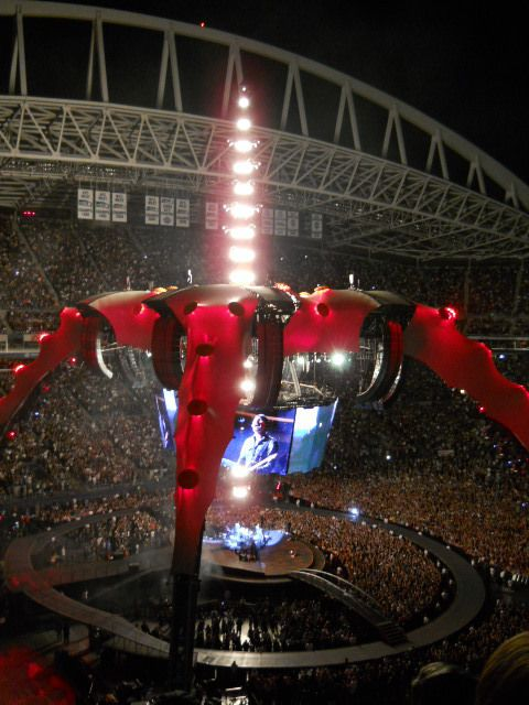 U2 -360° Tour -04/06/2011 -Seattle -USA -Washington - Qwest Field