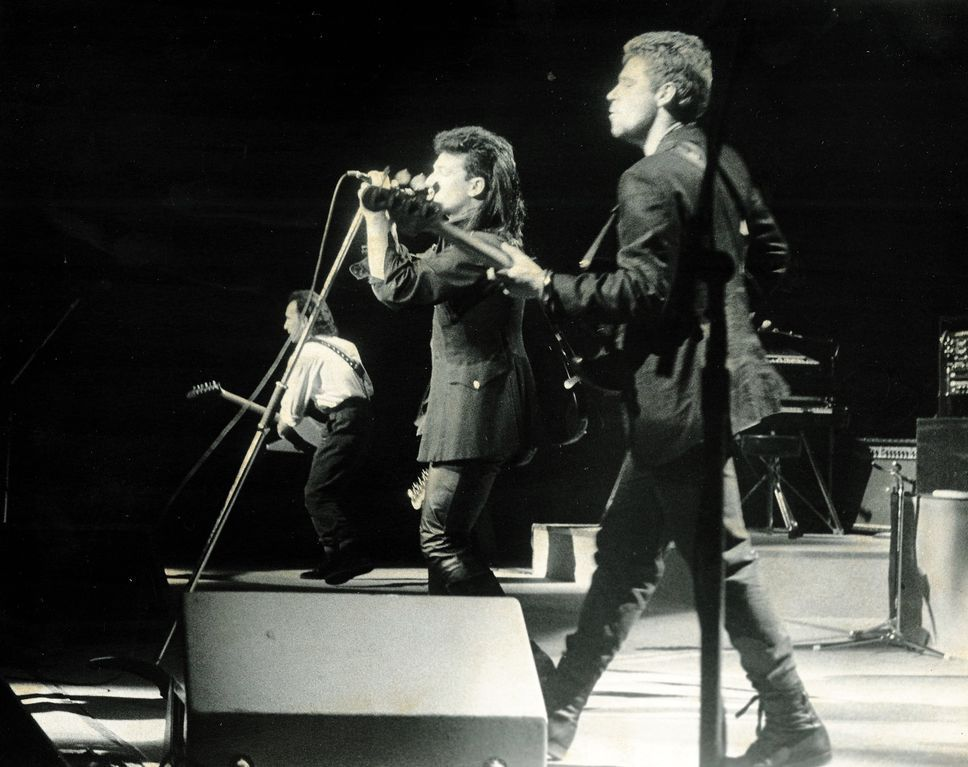 U2 -Unforgettable Fire Tour -17/03/1985 Denver- USA- McNichols Sports Arena