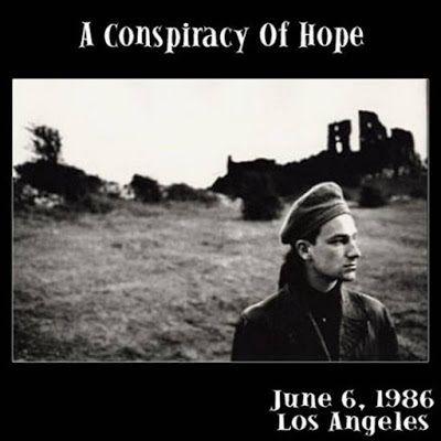 """La tournée """"Conspiracy Of Hope"""" d'Amnesty International. Sun City est joué avec Lou Reed. MLK remplace C'mon Everybody comme l'ouverture du spectacle et détient pour le reste des quatre dates de la tournée."""