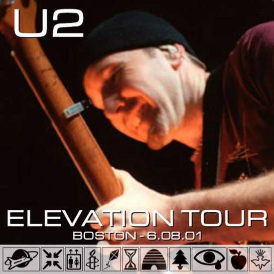 U2 -Elevation Tour -08/06/2001 -Boston - USA - Fleet Center #3