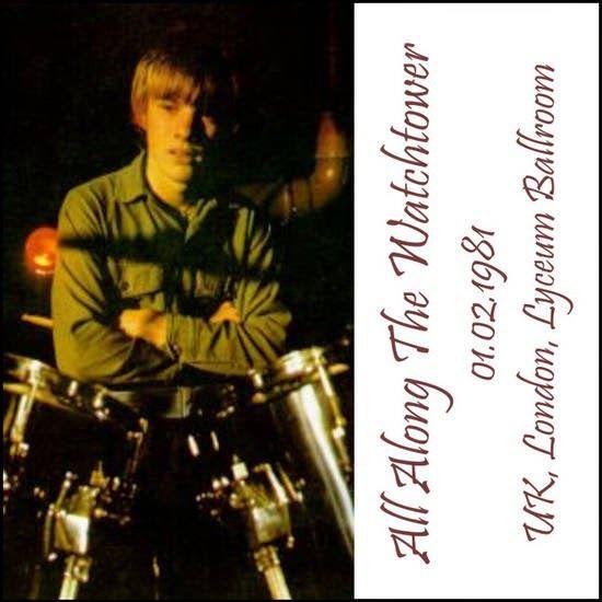 """Pete Wylie de """"Wah! Heat"""" rejoint U2 pour jouer All Along The Watchtower de Bob Dylan. C'est la première fois que U2 joue cette chanson, plus tard il entrera dans le tournage de Lovetown, en 1989."""