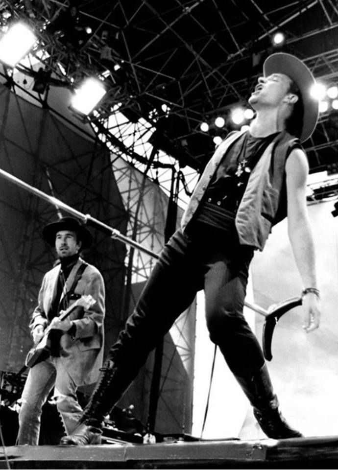 U2 -Joshua Tree Tour -01/08/1987 -Edimbourg  -Ecosse -Murryfield Stadium