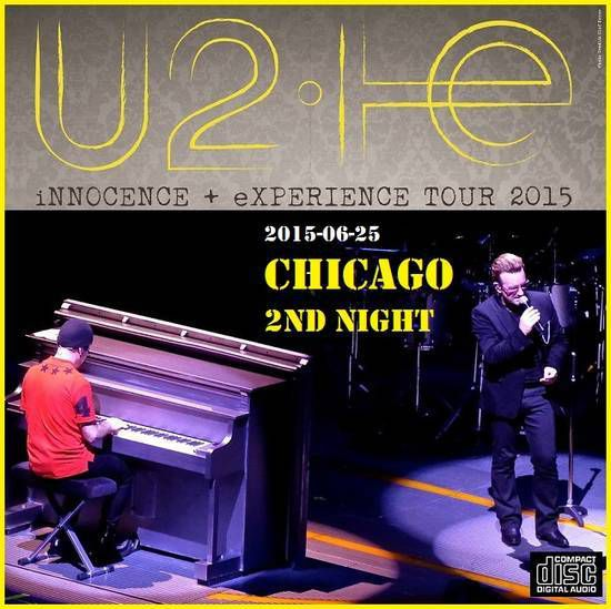 U2 -Innocence + Experience Tour 25/06/2015 -Chicago -Etats-Unis - United Center (2)