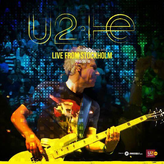 U2 -Innocence + Experience Tour 16/09/2015 -Stockholm -Suède -Ericsson Globe