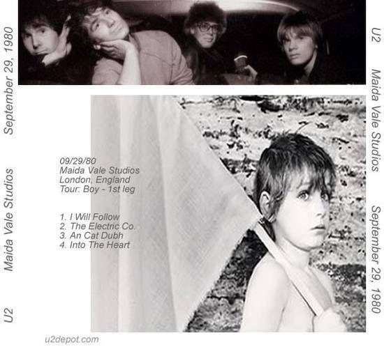 U2 -Boy Tour -29/09/1980 -Londres -Angleterre - Maida Vale Studios