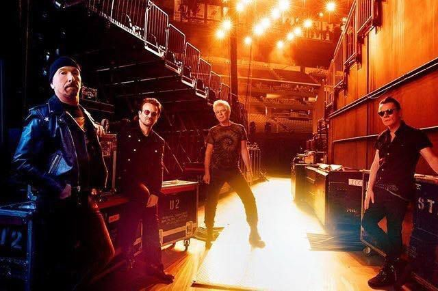 U2 -The Sunday Time Magazine -30/09/2018