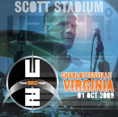 U2 -360° Tour -01/10/2009 -Charlottesville -USA -Virginie -Scott Stadium