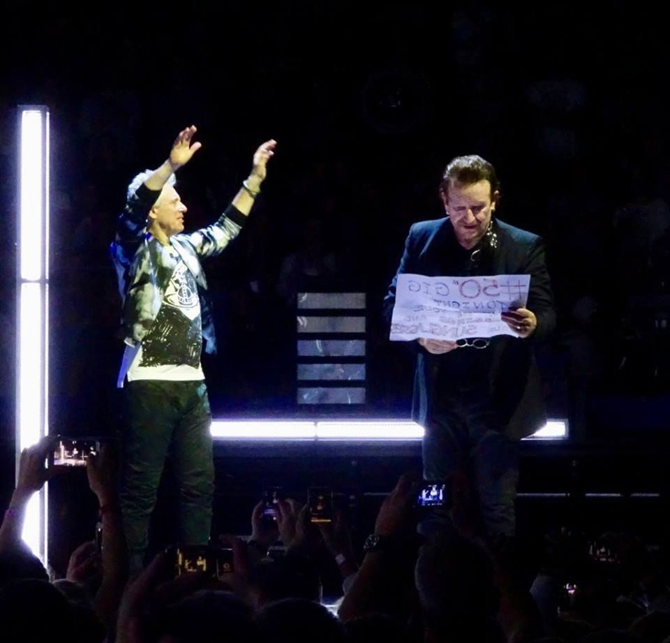 U2 -Experience + Innocence Tour -03/10/2018 -Hambourg -Allemagne -Barclaycard Arena #1