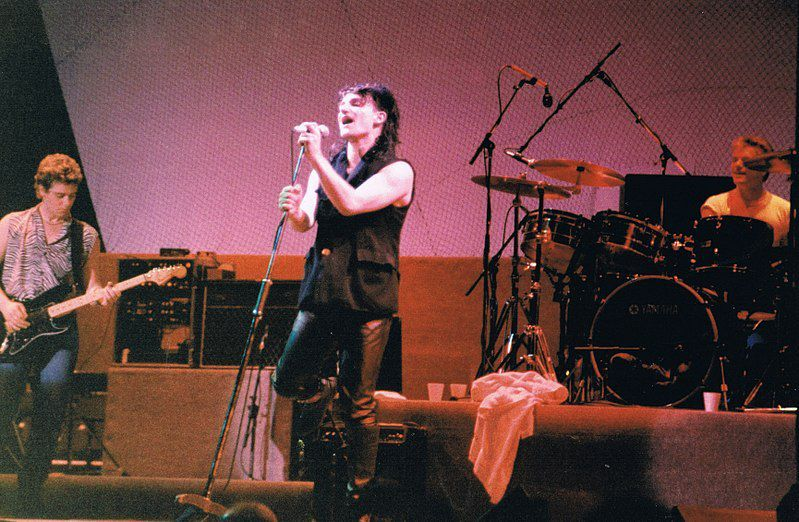 U2- Unforgettable Fire Tour -18/10/1984 -Lyon ,France, Halle Tony Garnier